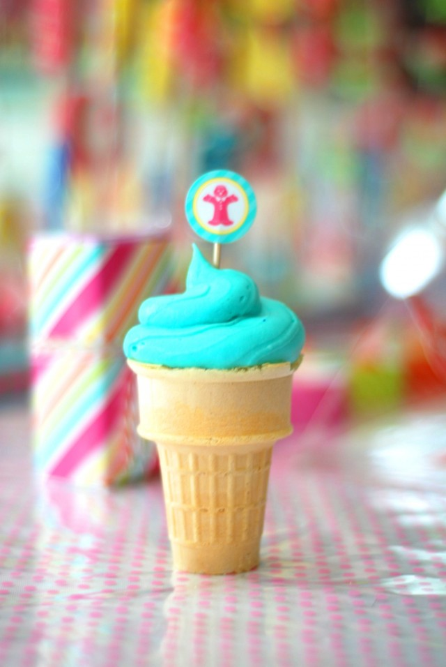candy land party cupcakes