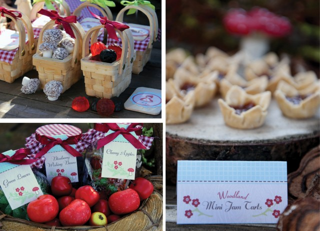 Desserts - Red Riding Hood Birthday Party