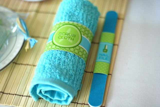 scrub & nail file wraps