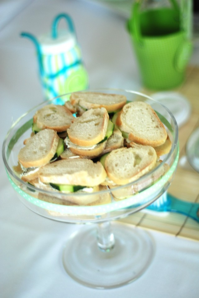 Cucumber sanwiches