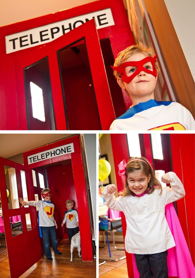 Super hero party activities