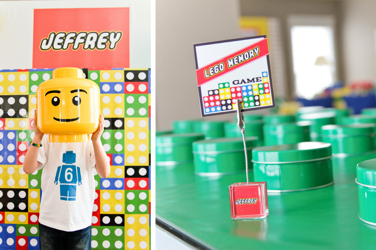 Lego party part 3 activities and games