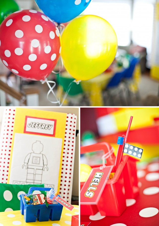 Jeffrey's Modern Lego Party - Full Detail Feature - Anders Ruff ...