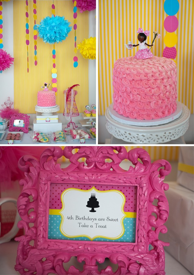tea doll party room and table setup 6