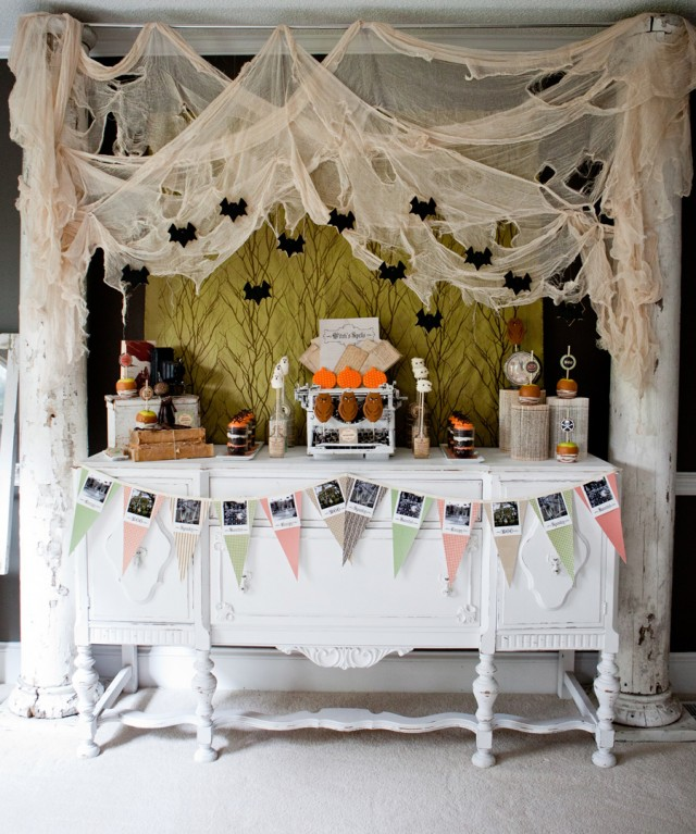 Happy Haunted Halloween Printable Design Collection Party