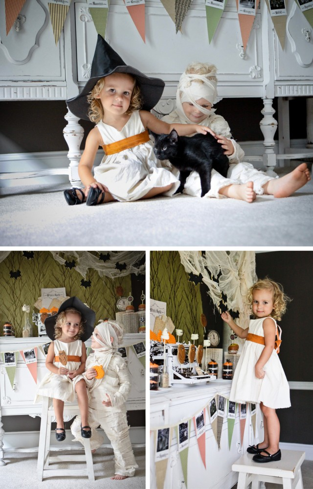 Happy Haunted Halloween Printable Design Collection Party 3