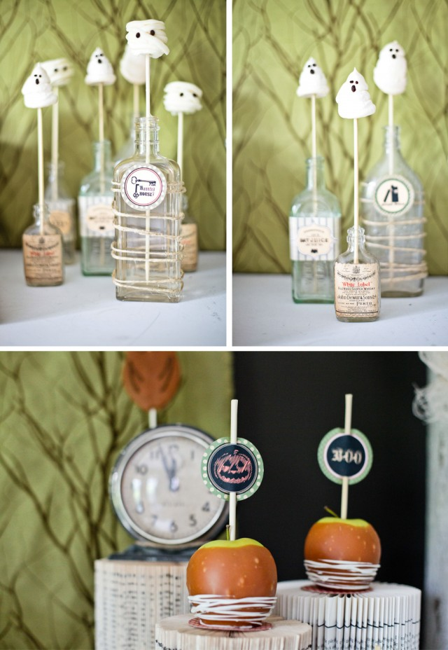 Happy Haunted Halloween Printable Design Collection Party 9