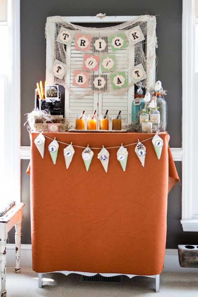 Happy Haunted Halloween Printable Design Collection Party 17