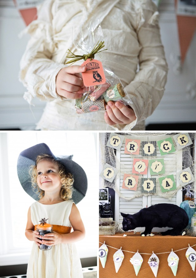 Happy Haunted Halloween Printable Design Collection Party 23