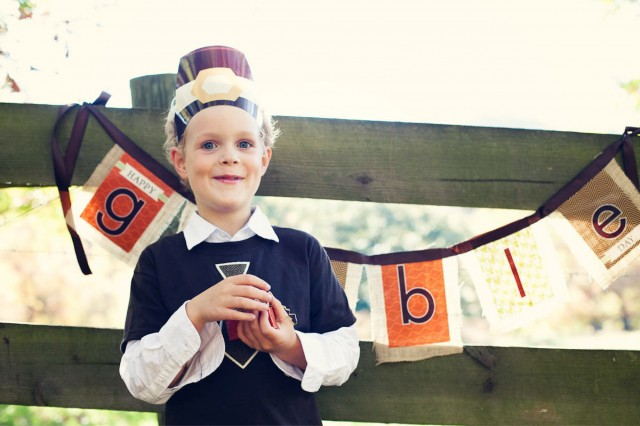 Thanksgiving Kids Party Dinner ideas banner