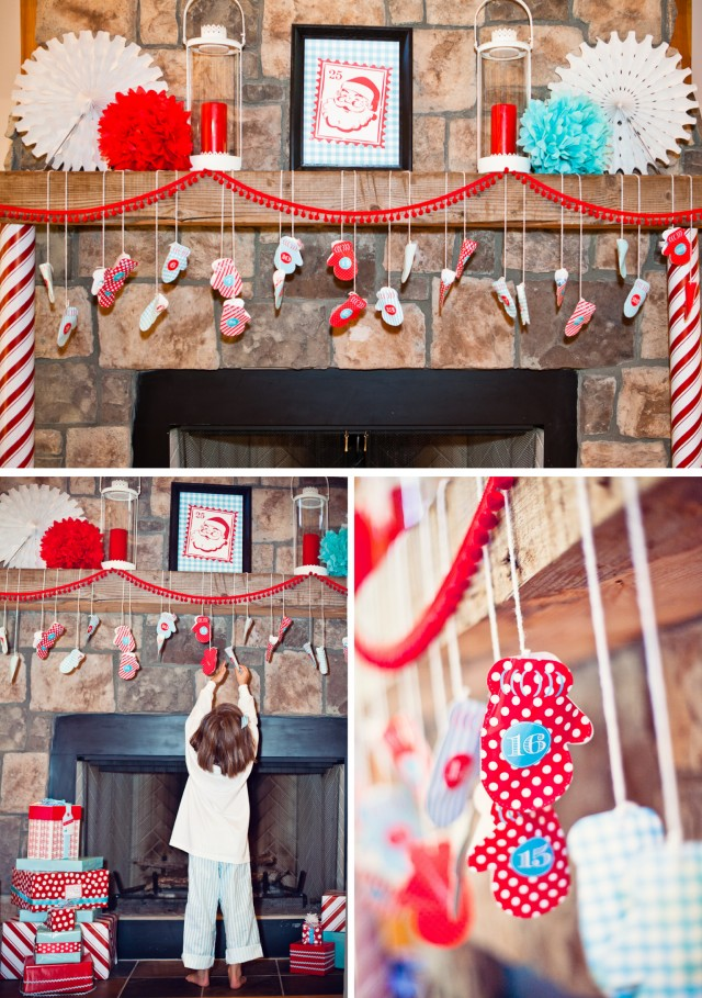 Mexican Christmas Party Ideas Part - 17: Christmas Party Mantle Decorating Ideas