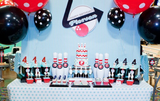 Retro BOWLING PARTY Birthday Party Ideas