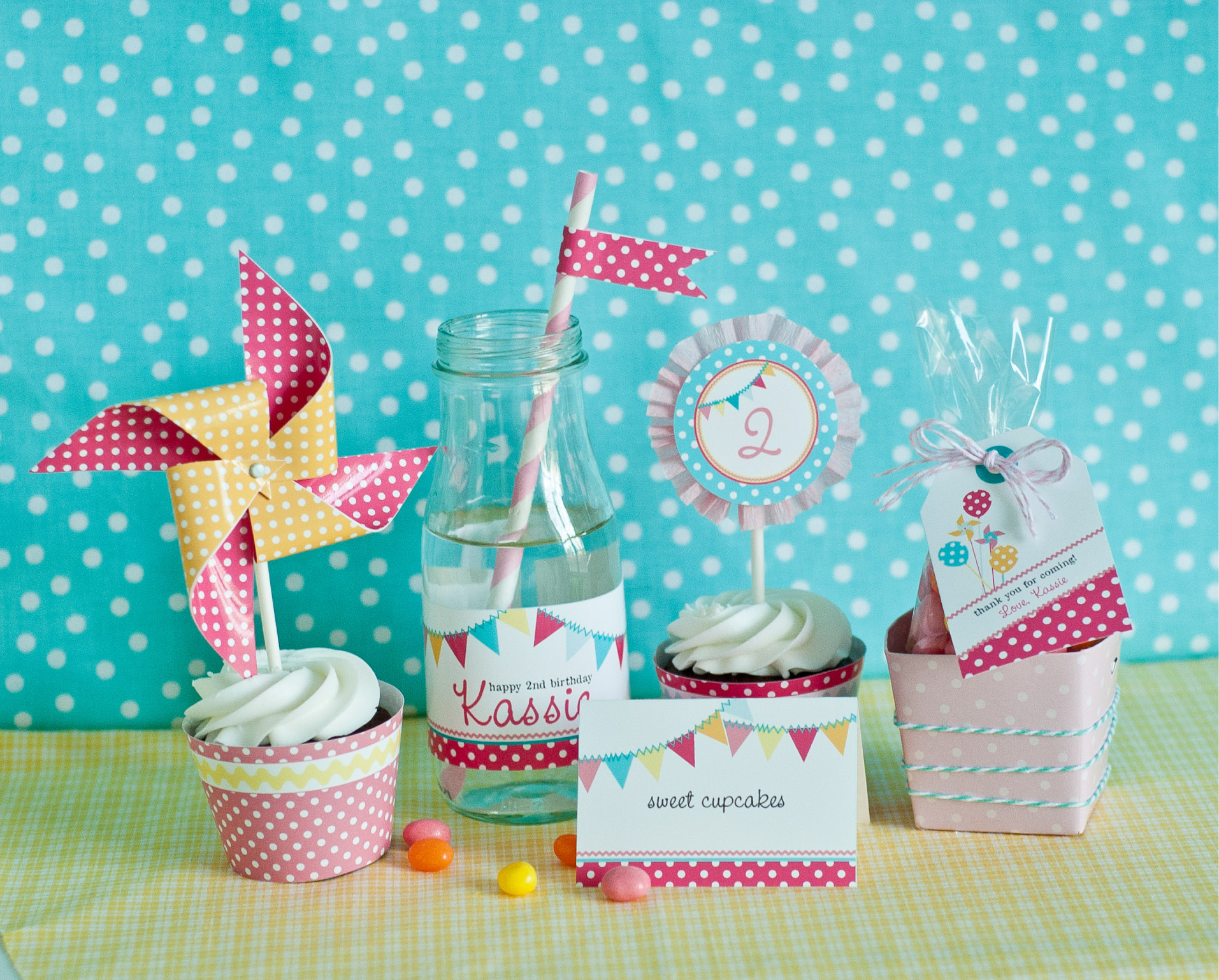 Girl birthday party themes party ideas for girls for Polka dot party ideas