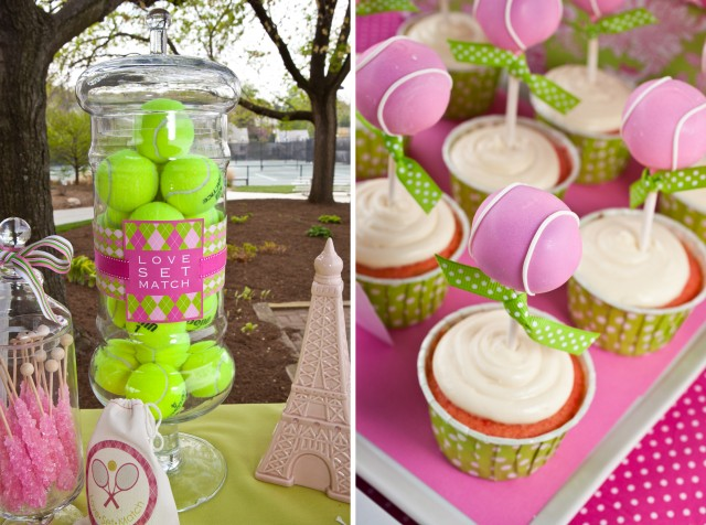 preppy tennis party anders ruff custom designs llc. Black Bedroom Furniture Sets. Home Design Ideas
