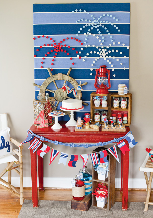 A nautical 4th of july party anders ruff custom designs llc for Fourth of july party dessert ideas