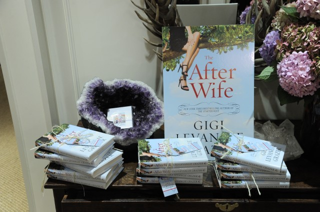 As the guests left, we each got a copy of The After Wife!