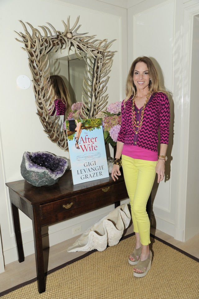 Gigi Grazer at THE AFTER WIFE book party hosted by Christopher Burch