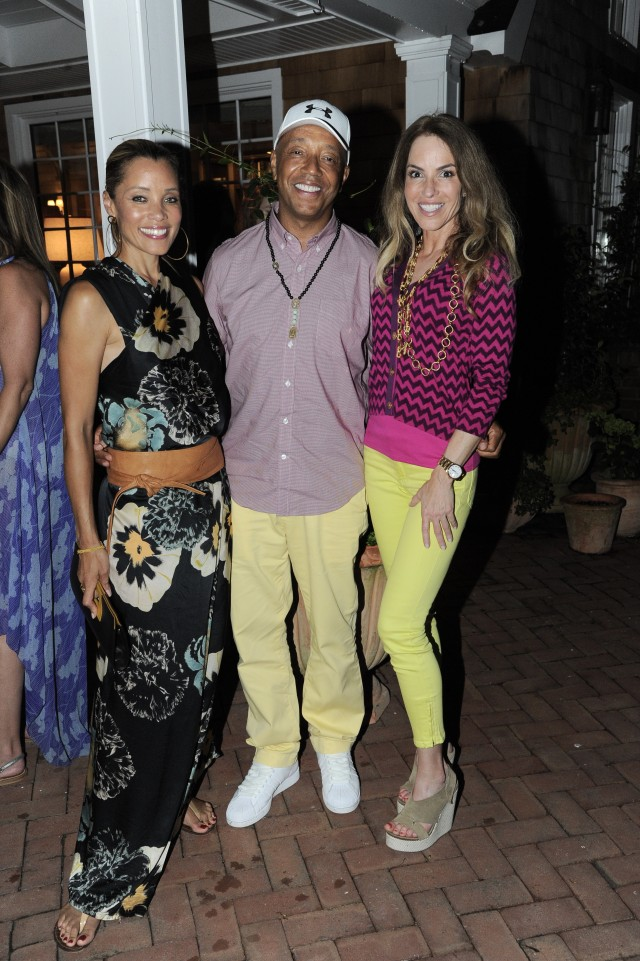 Michael Michele, Russell Simmons and Gigi Grazer