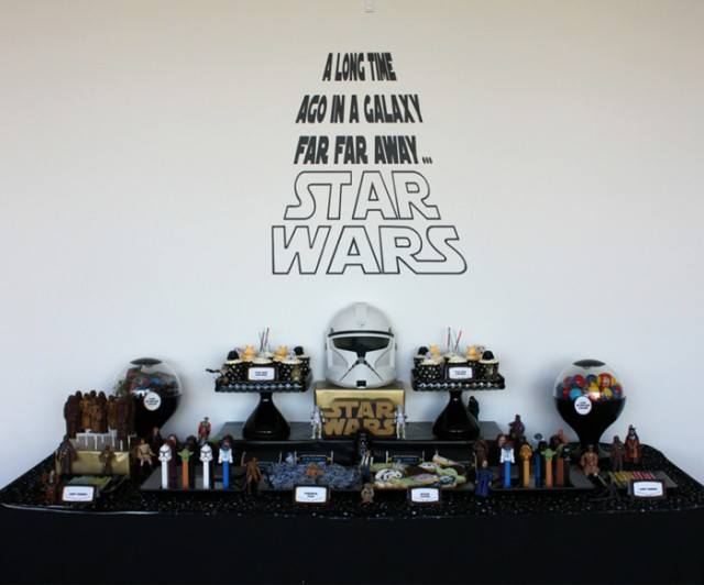 1000 images about star wars birthday party on pinterest for Decoration 50 ans homme