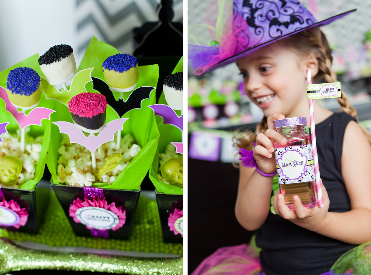 Halloween birthday party decoration ideas - Our New Glam O Ween Halloween Party Printable Collection