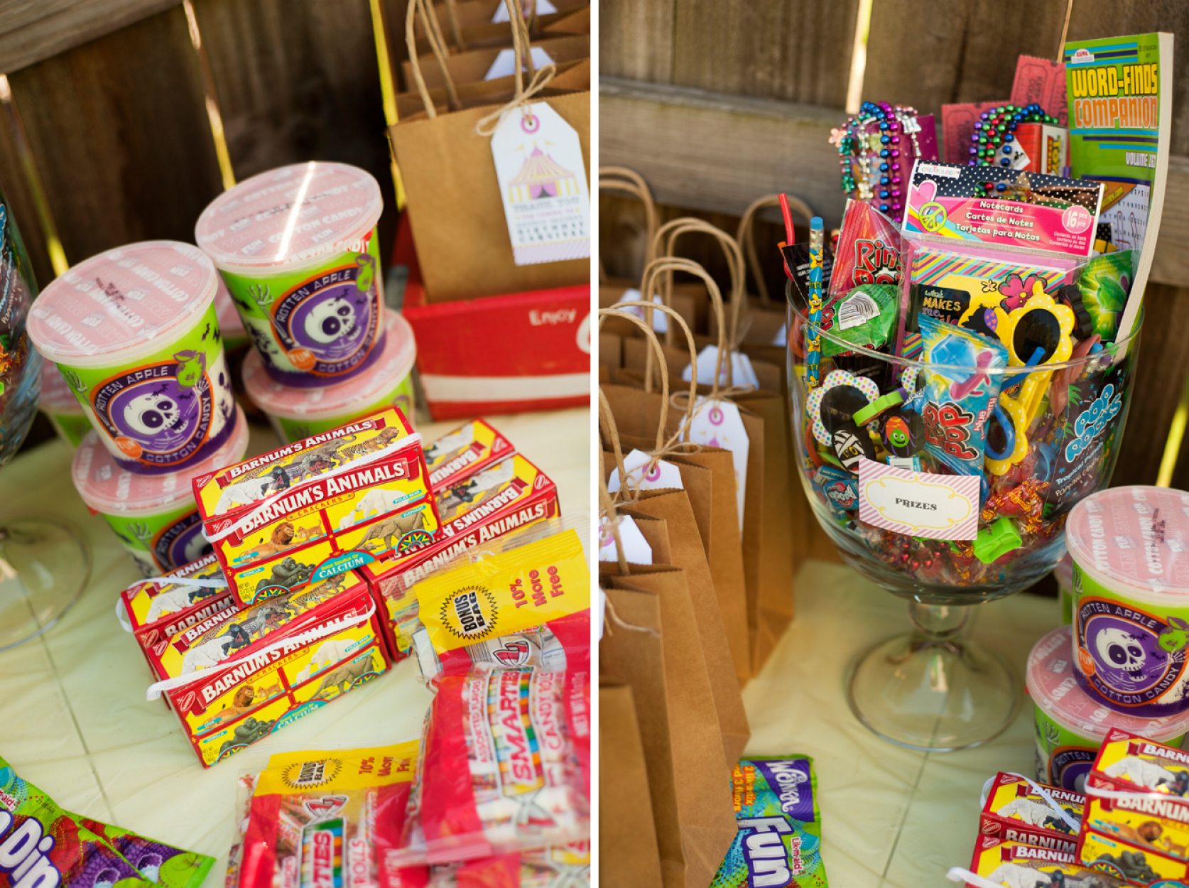 stands carnival in image the birthday of food all for circus party home decoration decorations ideas decor