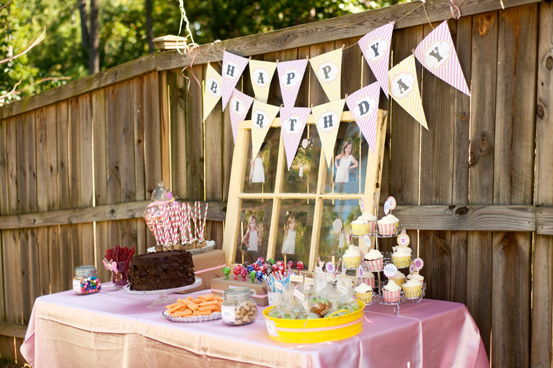 Today We Are Sharing A Sweet And Girlie Vintage Pink Yellow Carnival Birthday Party By Photographer Angie Of Timeless Treasure Photography