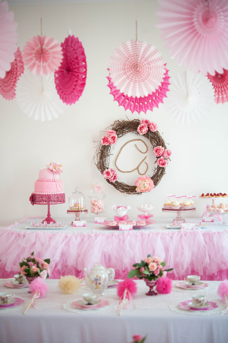A Whimsical amp Sweet Ombre Princess Party Anders Ruff