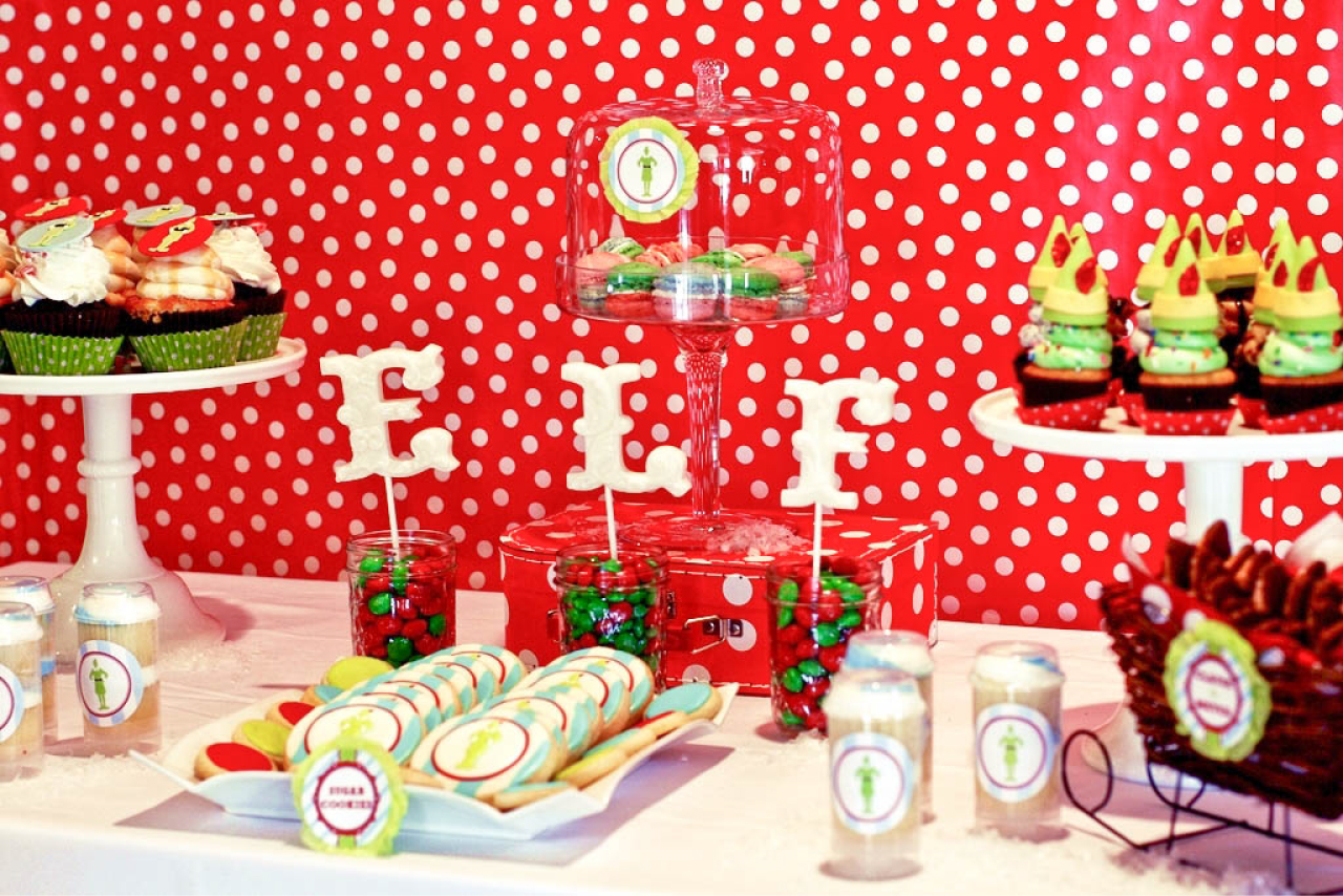 Buddy the Elf Themed Brunch Party by Deliciously Darling Events ...