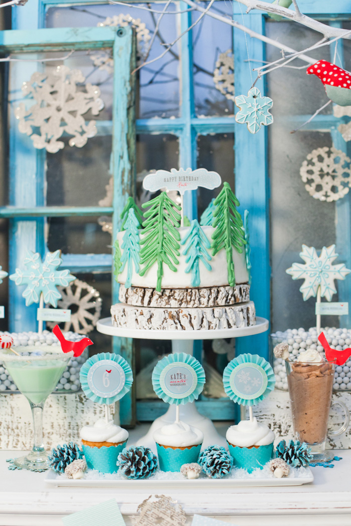 Our whimsical winter wonderland party anders ruff custom designs