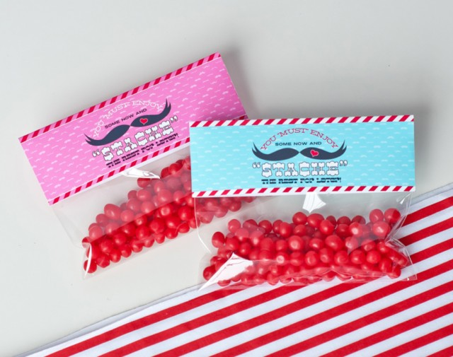 valentines day bag topper treat bags