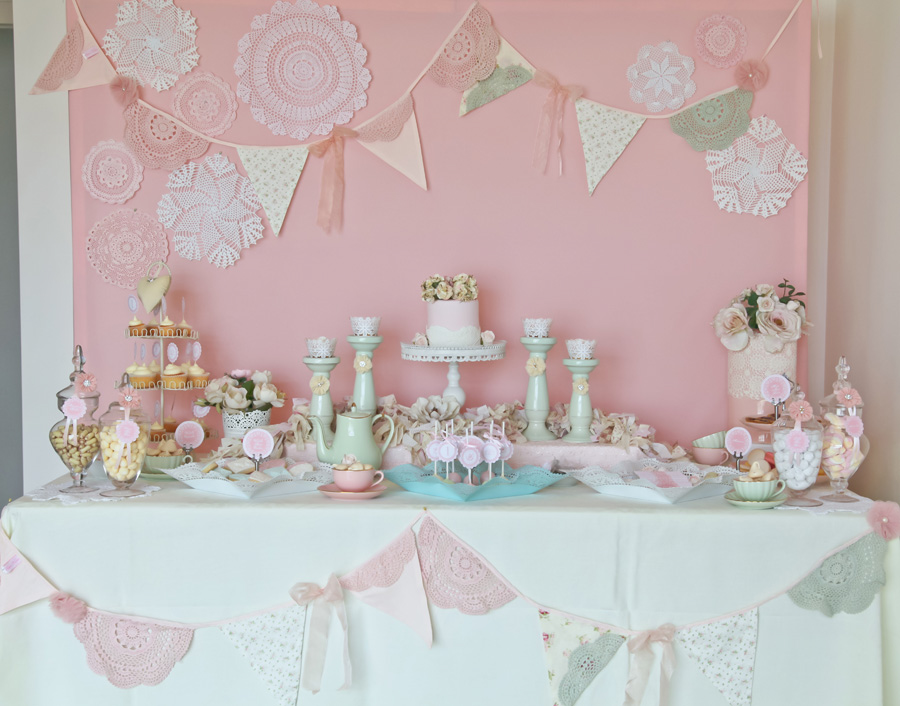 tea party birthday party printables