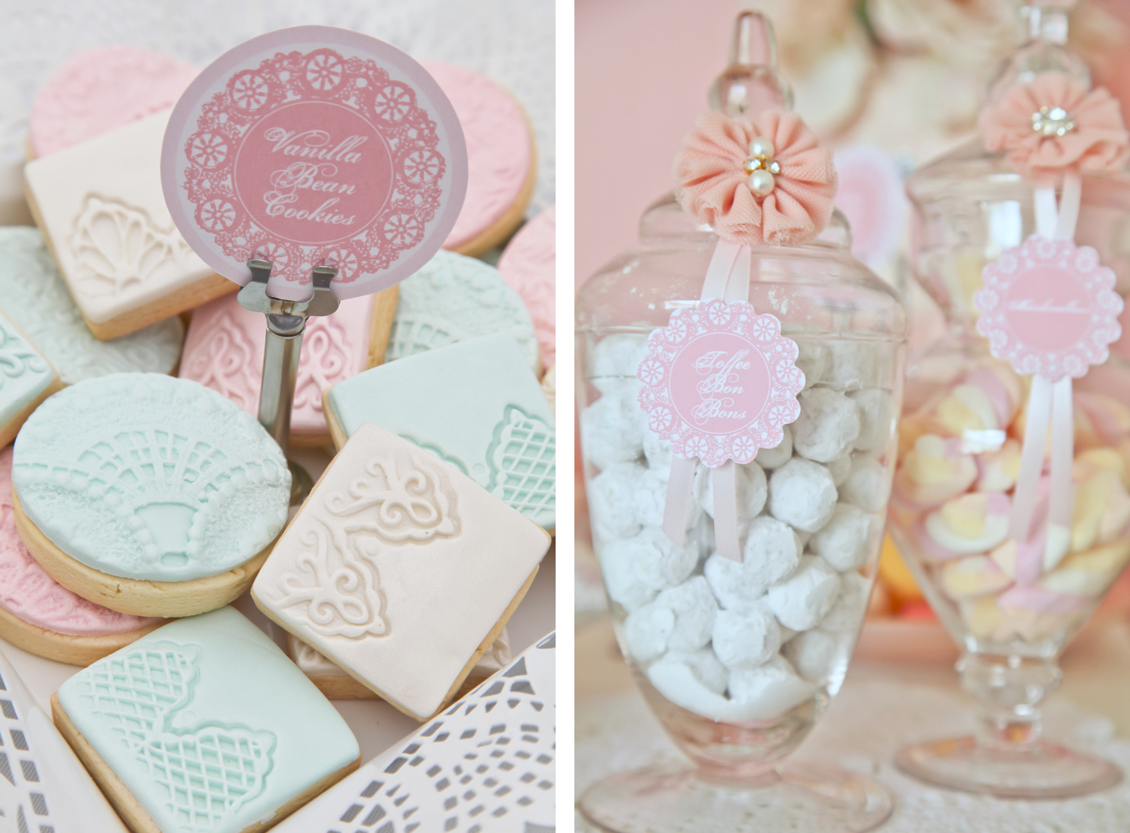 A Stunning Doily Tea Party by Kiss With Style - Anders Ruff Custom ...