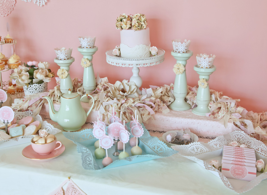 A stunning doily tea party by kiss with style anders ruff custom this theme would be perfect for a baby shower bridal shower or birthday party every detail was perfect from the desserts to the stunning styling and filmwisefo