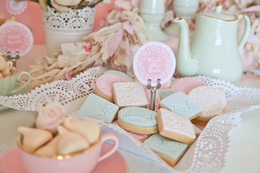 A Stunning Doily Tea Party by Kiss With Style - Anders ...