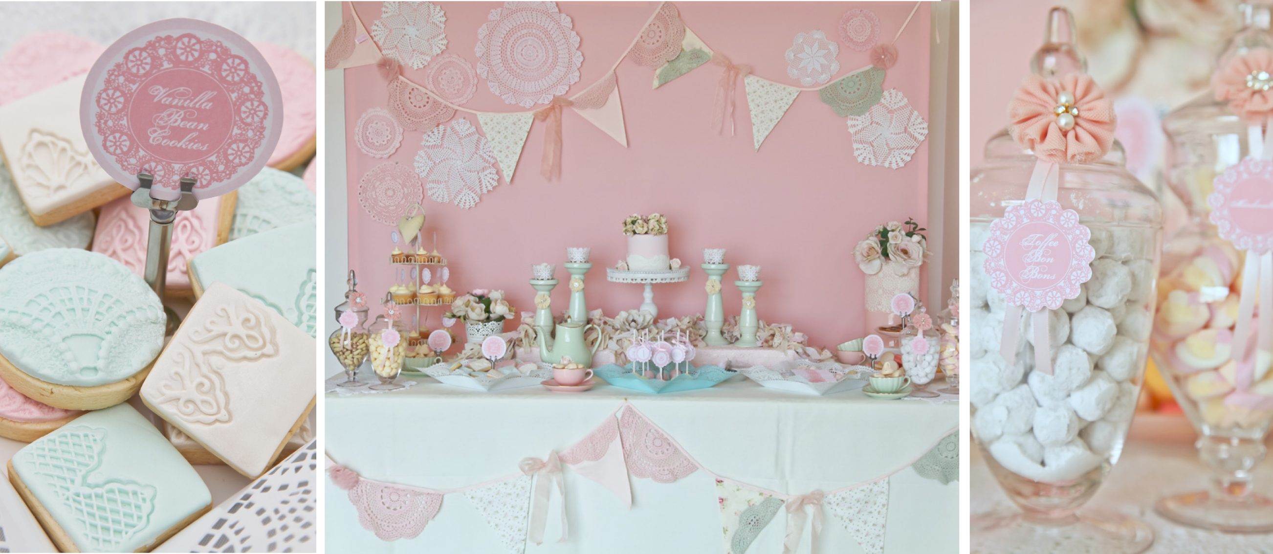A Stunning Doily Tea Party by Kiss With Style Anders Ruff Custom