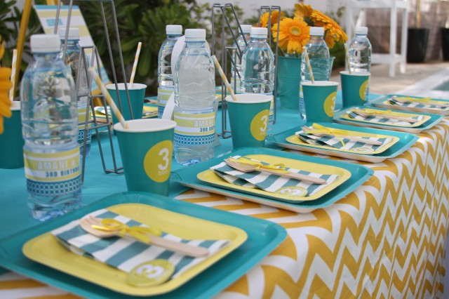 pool party printables