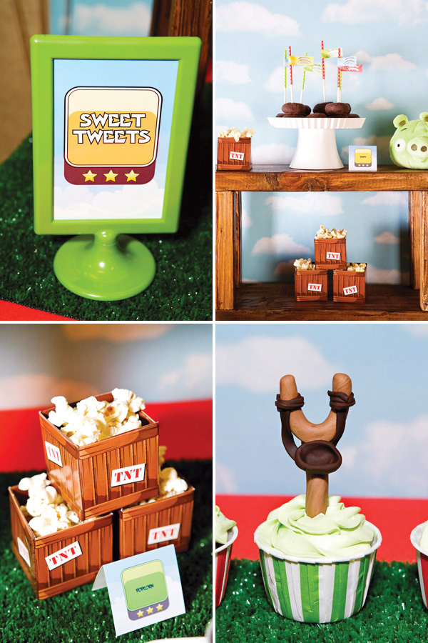 Now launching an angry bird day celebration angry for Angry birds birthday party decoration ideas