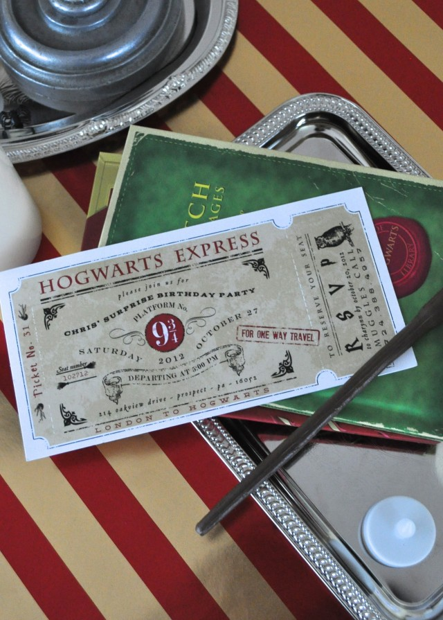 A Magical Harry Potter Birthday Party for Kids and Adults