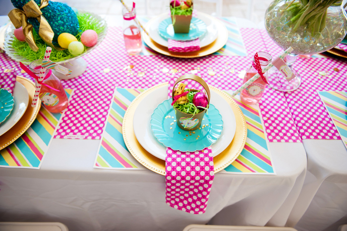 a bright and colorful easter party anders ruff custom designs llc - Spring Party Decorating Ideas