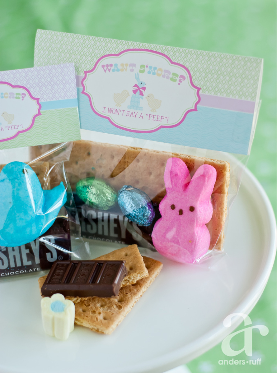 Easter Peeps S'mores Bag Toppers - Anders Ruff Custom ...