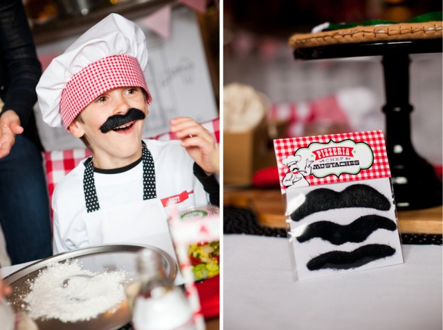 pizza chef mustaches