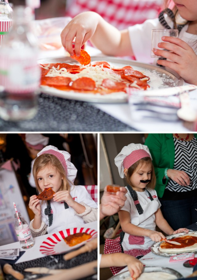 pizza making party ideas