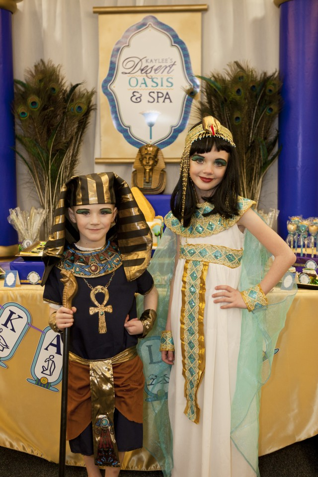 A Gorgeous Quot Jewel Of The Nile Quot Egyptian Spa Party Anders
