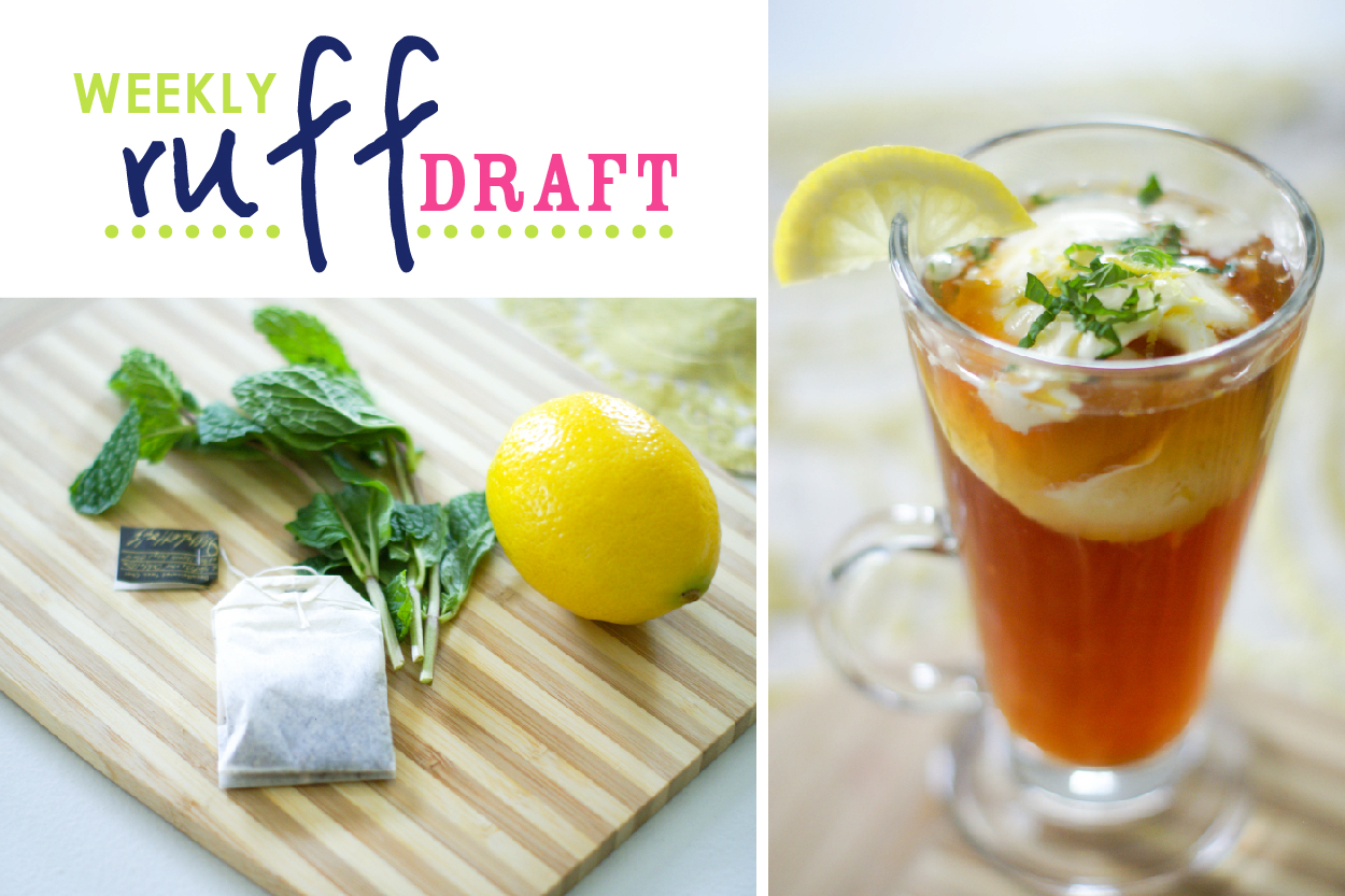 Ice Tea with Fresh Mint and Lemon Gelato for your Kentucky Derby Bar ...