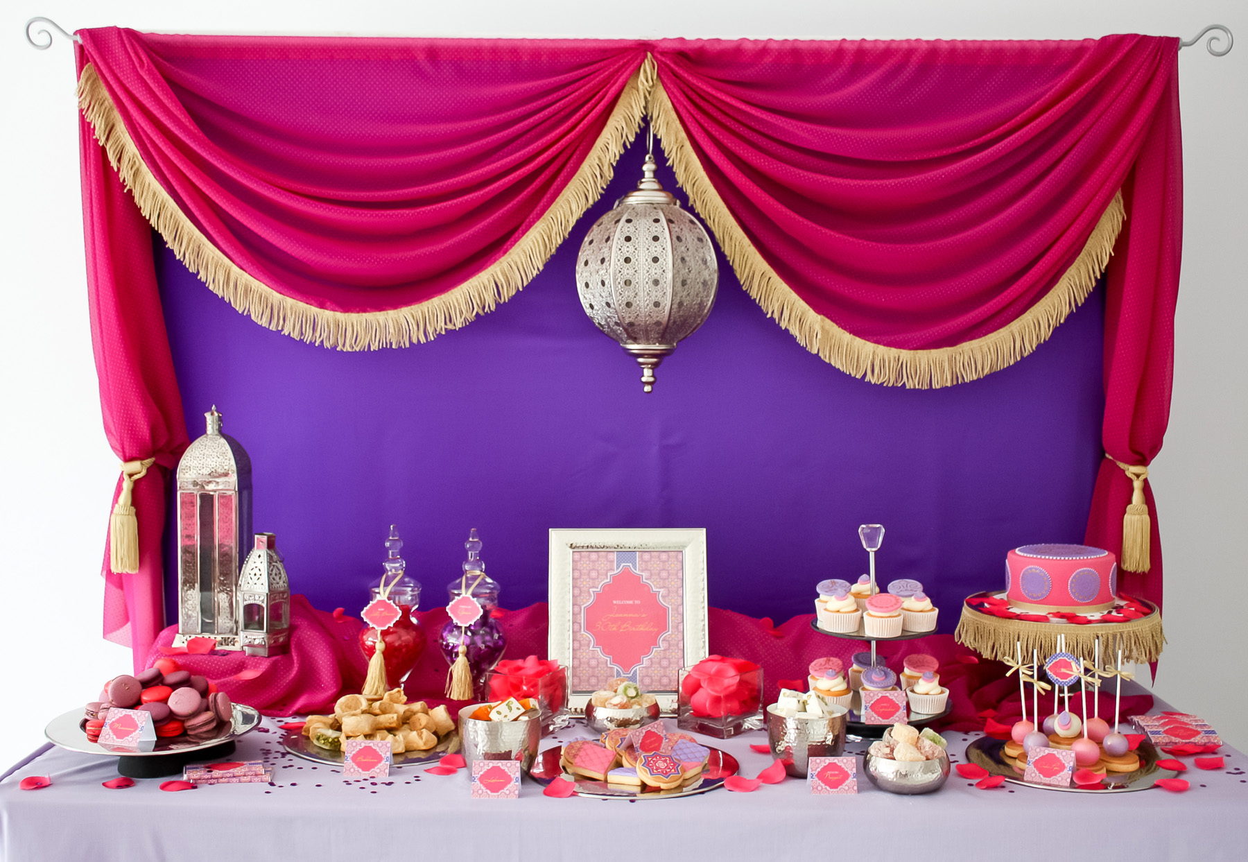 In Style Party Favors: A Stunning Moroccan Birthday Party