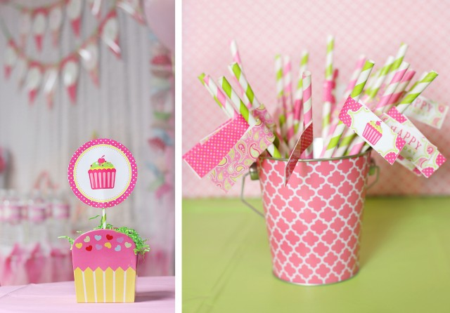 cupcake party cupcake toppers