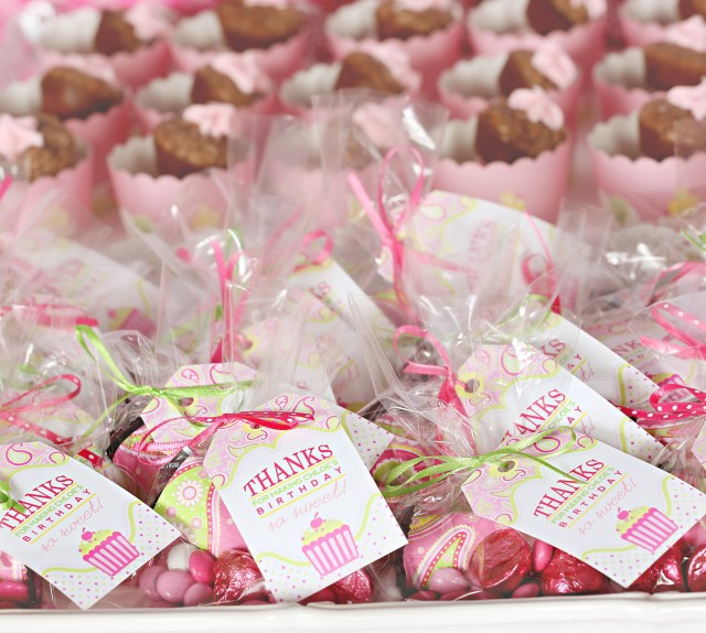 cupcake party favor tags