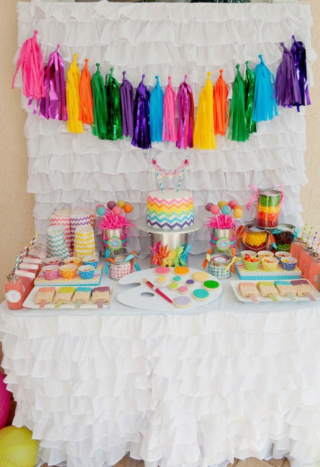 Giveaway a tissue tassel garland kit from the flair for Art and craft decoration