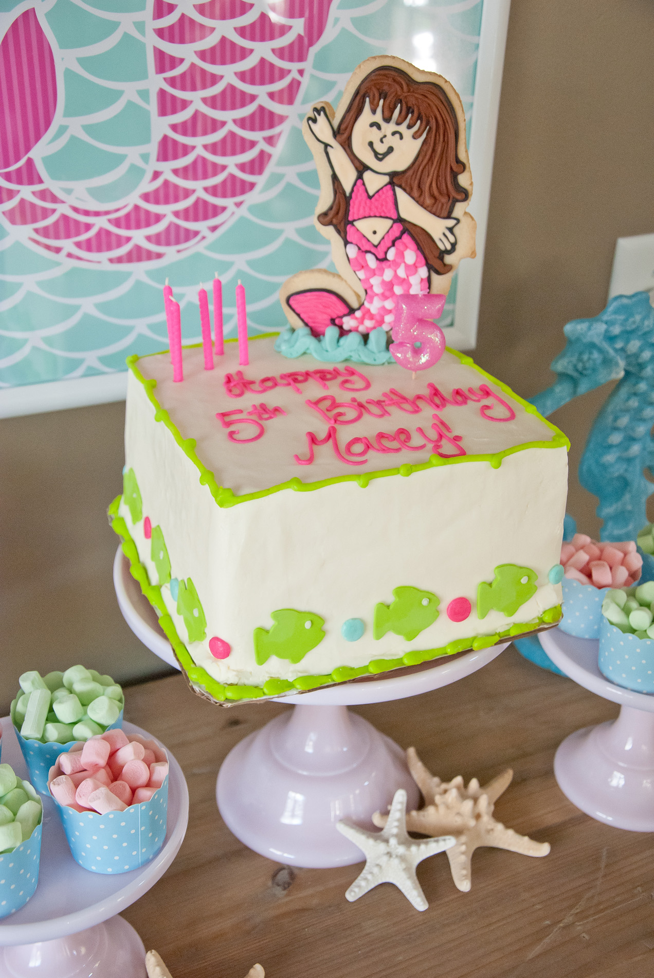 a dreamy mermaid birthday party anders ruff custom designs llc - Little Mermaid Party Invitations