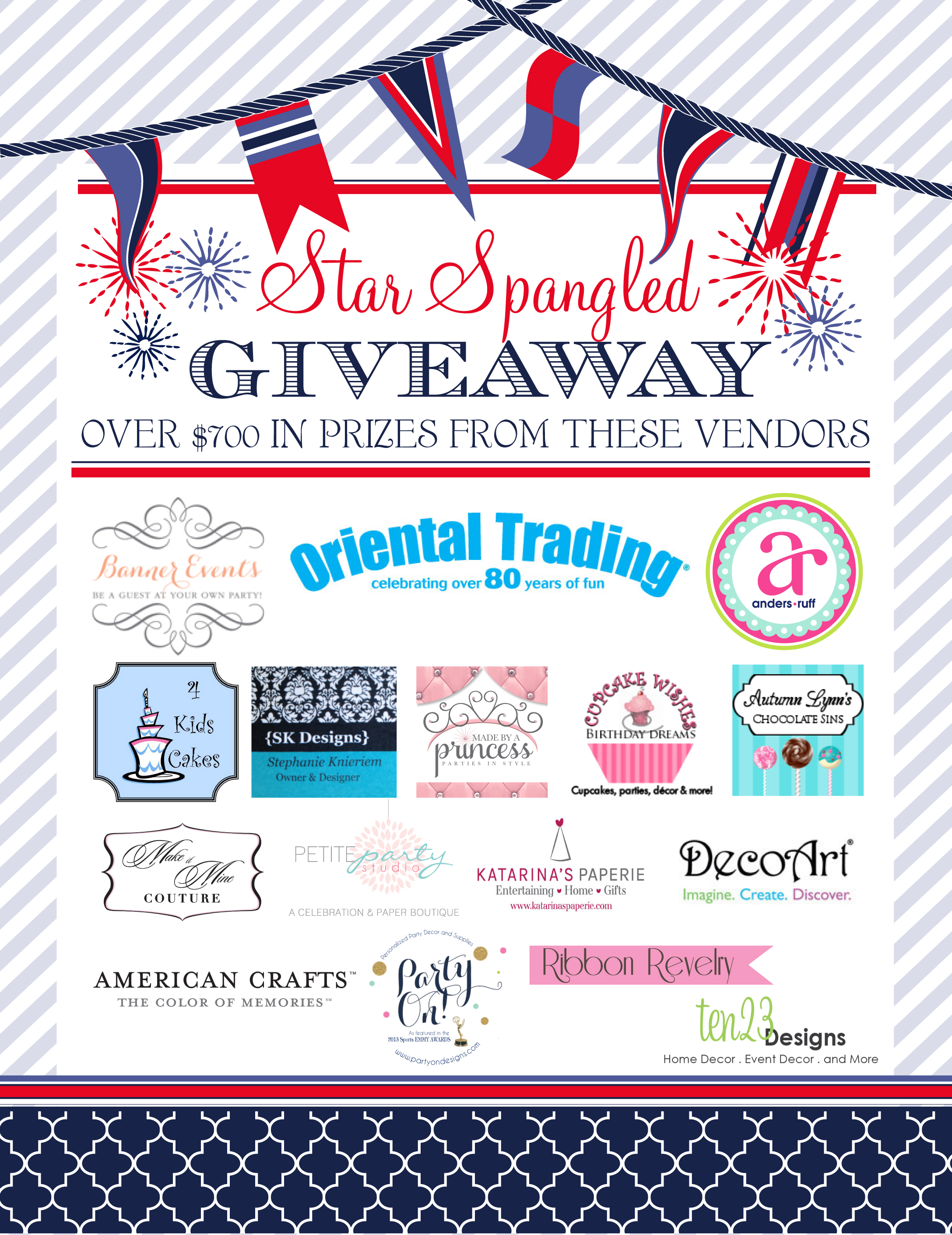 A Star Spangled Giveaway With 700 Worth Of Prizes